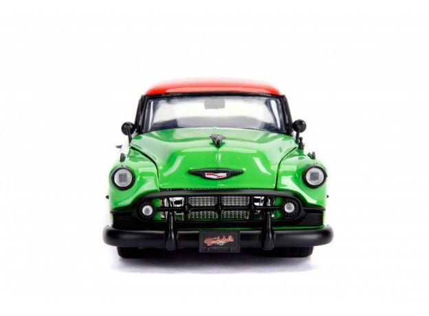 ماکت فلزی جادا مدل پویزن آیوی و ماشین شورولت سبز (1)