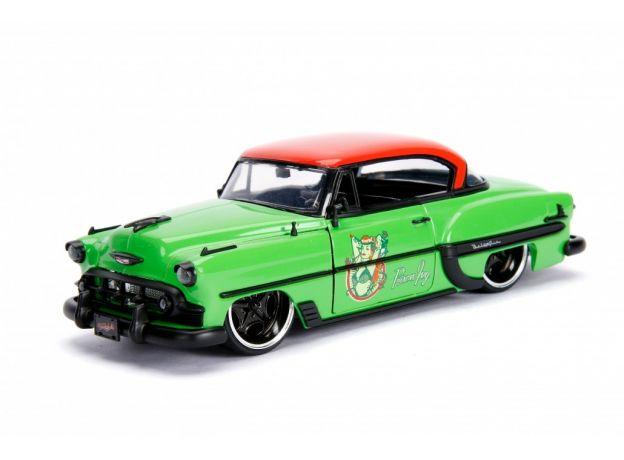 ماکت فلزی جادا مدل پویزن آیوی و ماشین شورولت سبز (2)