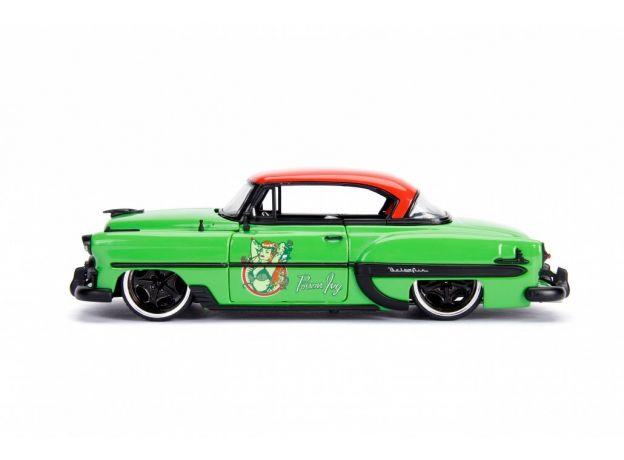ماکت فلزی جادا مدل پویزن آیوی و ماشین شورولت سبز (3)