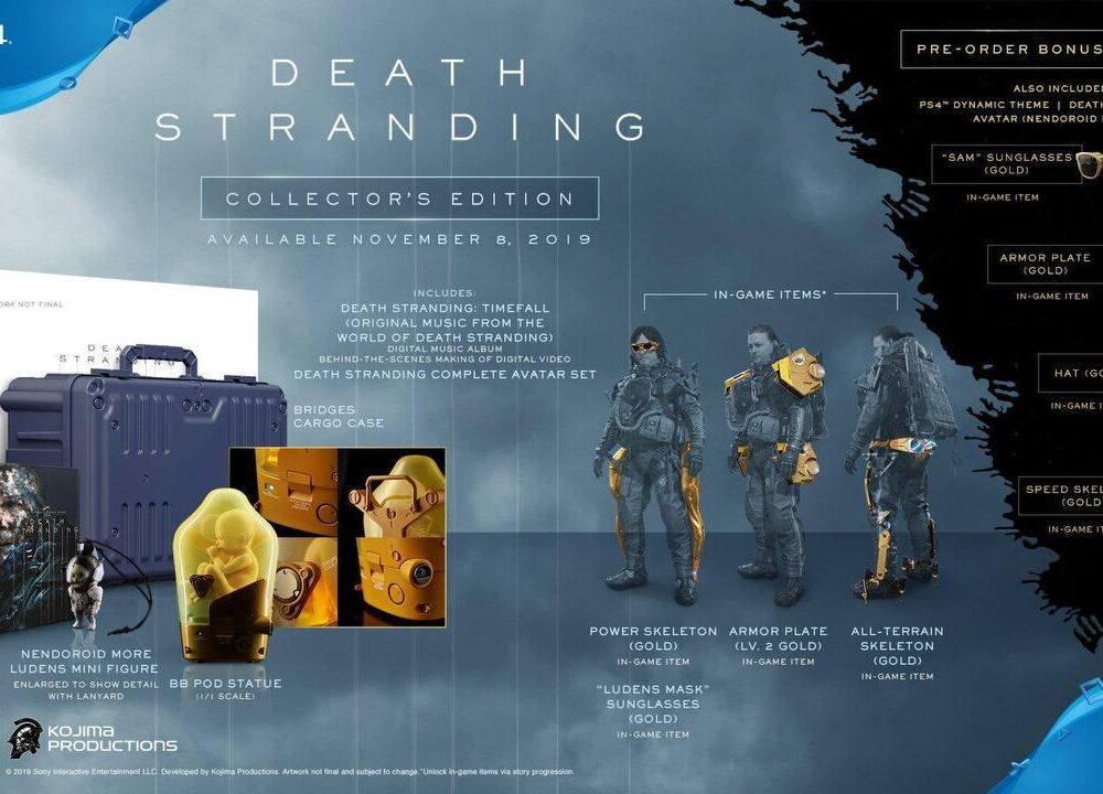 کالکتورز ادیشن Death Stranding (1)