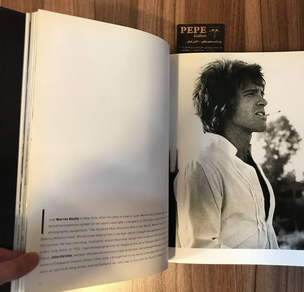 کتاب ( آلبوم عکس ) عکس های برگزیده ی الن گراهام ( از هنرپیشگان و افراد مشهور … ) بزرگداشت ۴۰ امین سالگرد (10)
