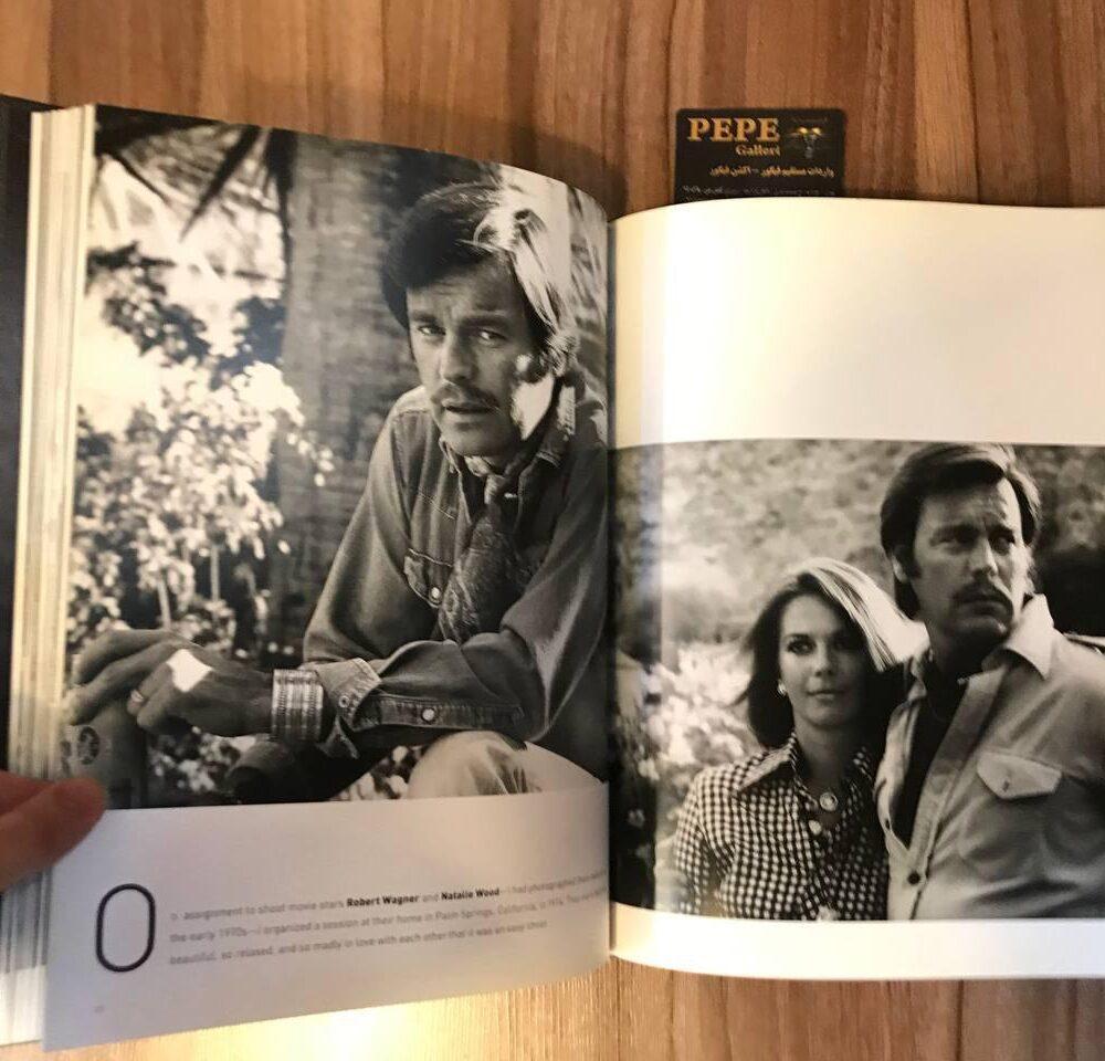 کتاب ( آلبوم عکس ) عکس های برگزیده ی الن گراهام ( از هنرپیشگان و افراد مشهور … ) بزرگداشت ۴۰ امین سالگرد (12)