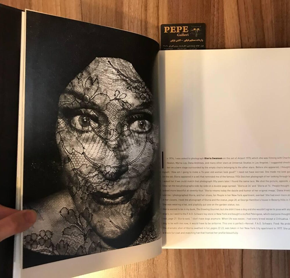 کتاب ( آلبوم عکس ) عکس های برگزیده ی الن گراهام ( از هنرپیشگان و افراد مشهور … ) بزرگداشت ۴۰ امین سالگرد (2)