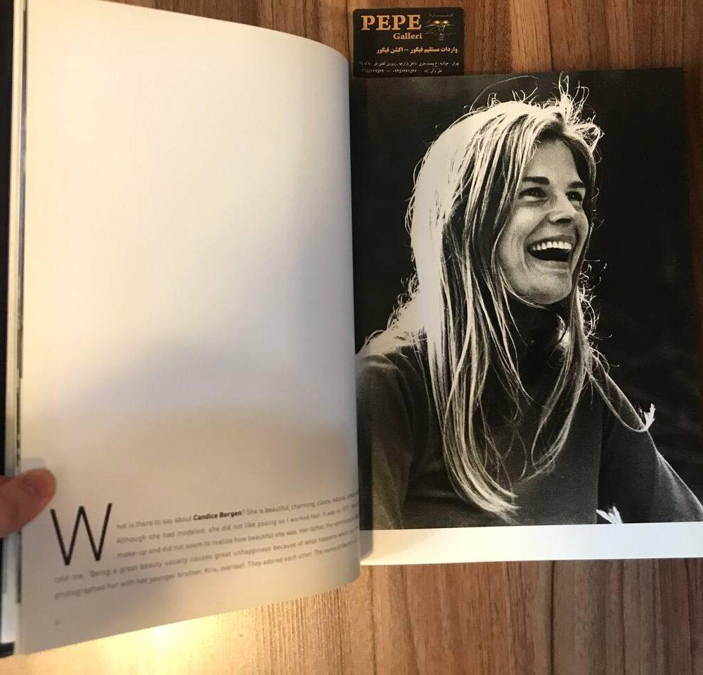 کتاب ( آلبوم عکس ) عکس های برگزیده ی الن گراهام ( از هنرپیشگان و افراد مشهور … ) بزرگداشت ۴۰ امین سالگرد (3)