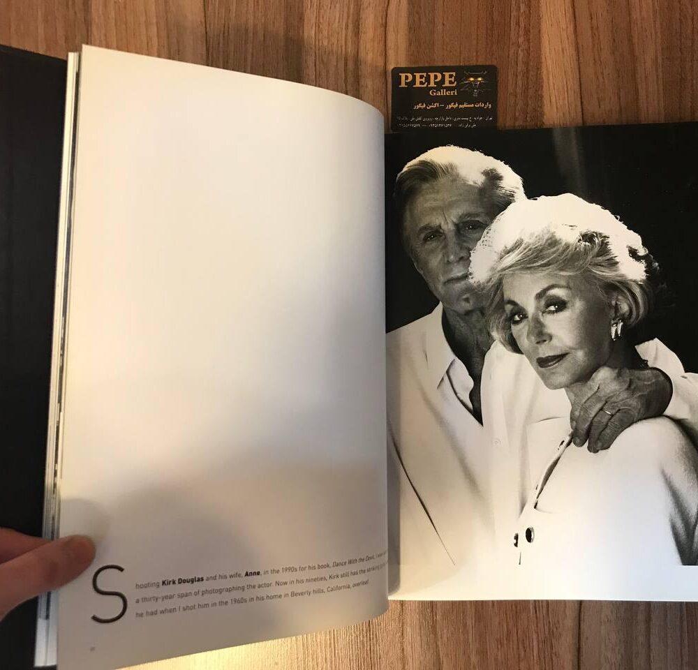 کتاب ( آلبوم عکس ) عکس های برگزیده ی الن گراهام ( از هنرپیشگان و افراد مشهور … ) بزرگداشت ۴۰ امین سالگرد (4)