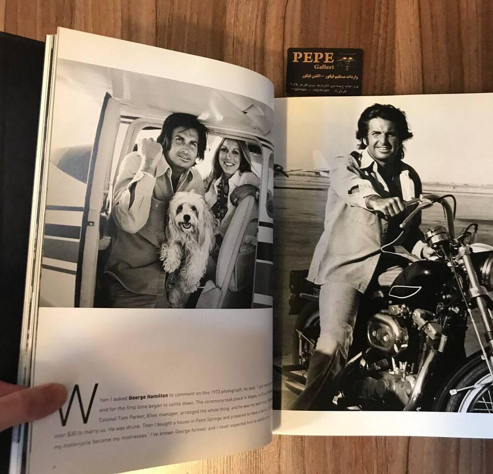 کتاب ( آلبوم عکس ) عکس های برگزیده ی الن گراهام ( از هنرپیشگان و افراد مشهور … ) بزرگداشت ۴۰ امین سالگرد (6)