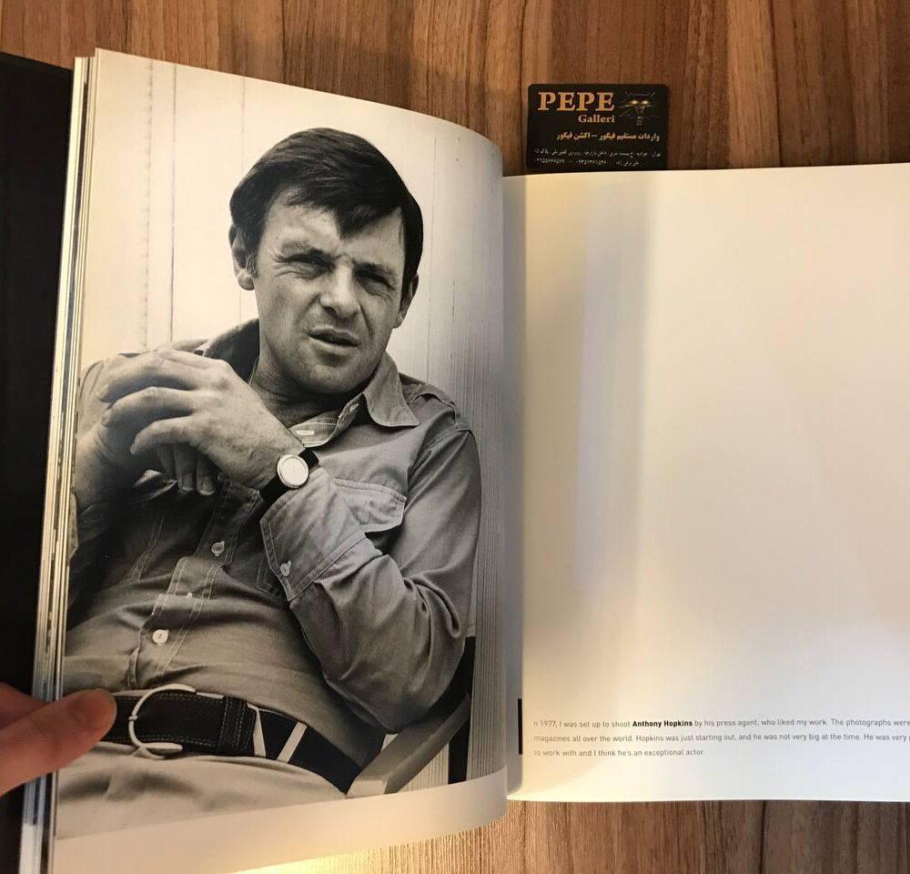 کتاب ( آلبوم عکس ) عکس های برگزیده ی الن گراهام ( از هنرپیشگان و افراد مشهور … ) بزرگداشت ۴۰ امین سالگرد (7)