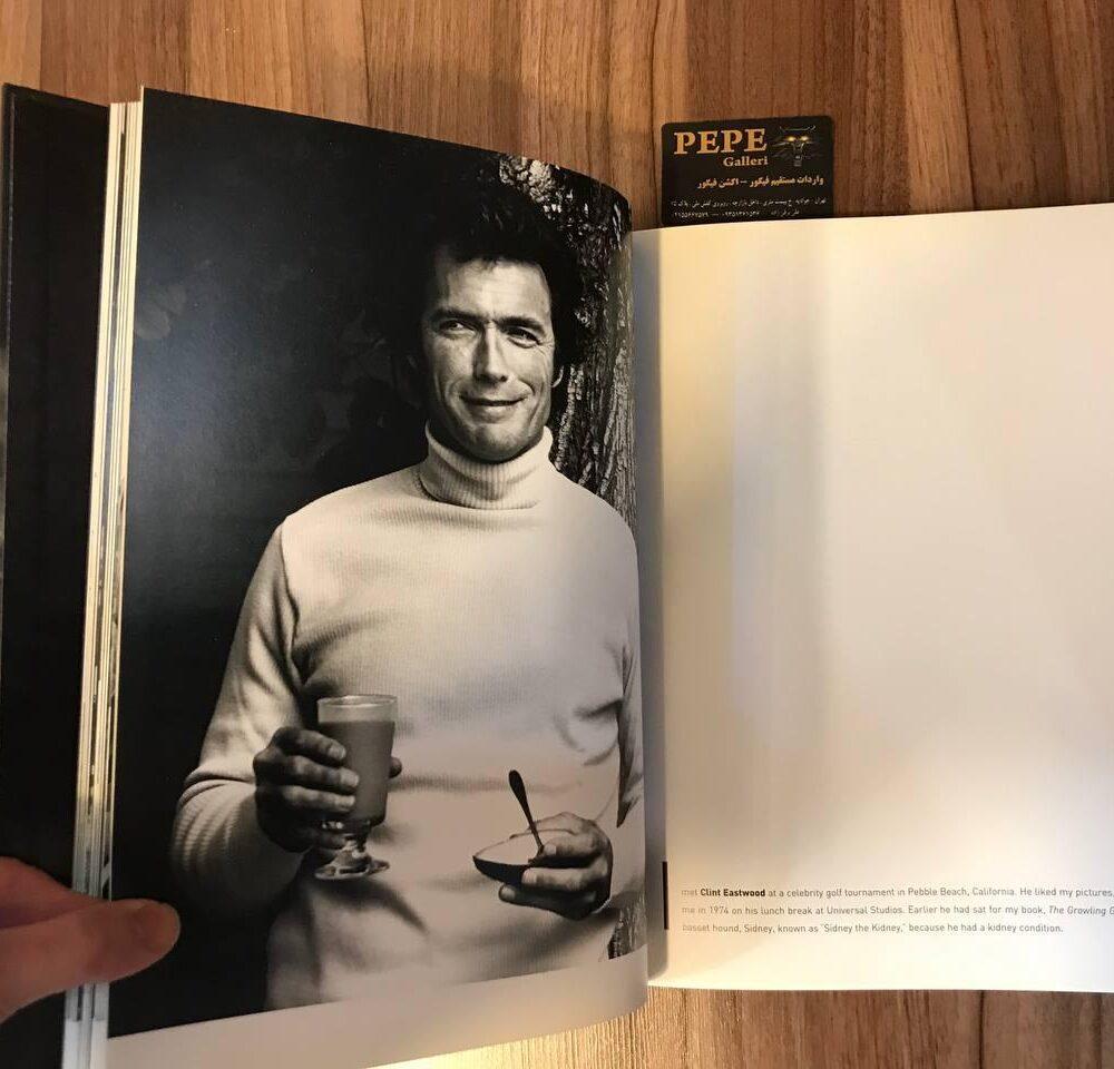 کتاب ( آلبوم عکس ) عکس های برگزیده ی الن گراهام ( از هنرپیشگان و افراد مشهور … ) بزرگداشت ۴۰ امین سالگرد (8)