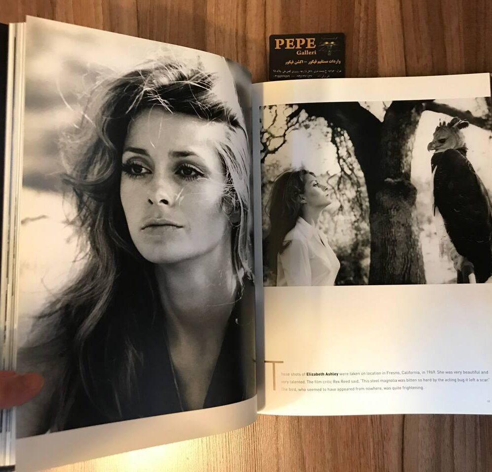 کتاب ( آلبوم عکس ) عکس های برگزیده ی الن گراهام ( از هنرپیشگان و افراد مشهور … ) بزرگداشت ۴۰ امین سالگرد (9)