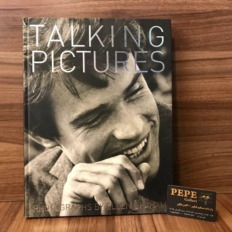 کتاب ( آلبوم عکس ) عکس های برگزیده ی الن گراهام ( از هنرپیشگان و افراد مشهور ... ) بزرگداشت ۴۰ امین سالگرد