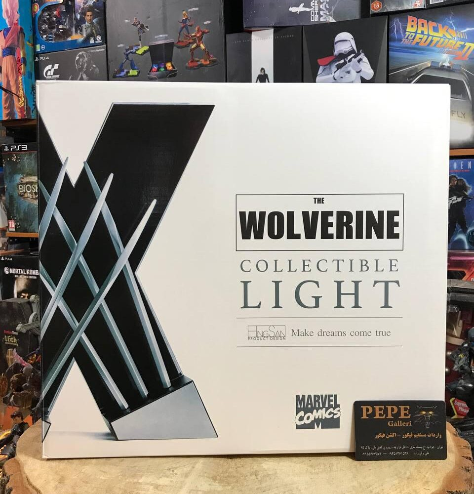 HingSan 11 Light X-Men Wolverine Replica Claws Weapons Collectible LED DESK Light (14)