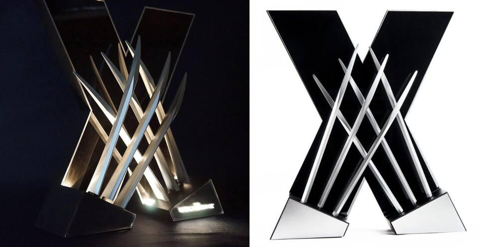 HingSan 11 Light X-Men Wolverine Replica Claws Weapons Collectible LED DESK Light (19)
