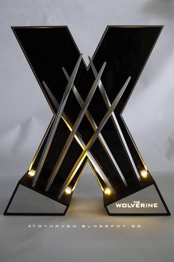 HingSan 11 Light X-Men Wolverine Replica Claws Weapons Collectible LED DESK Light (5)