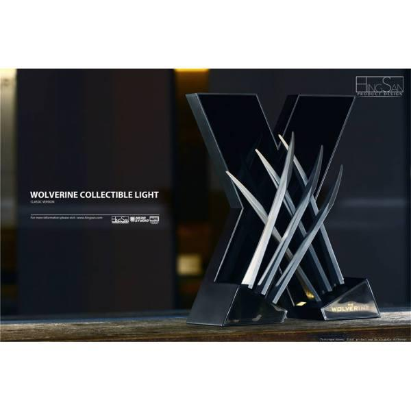 HingSan 11 Light X-Men Wolverine Replica Claws Weapons Collectible LED DESK Light (8)