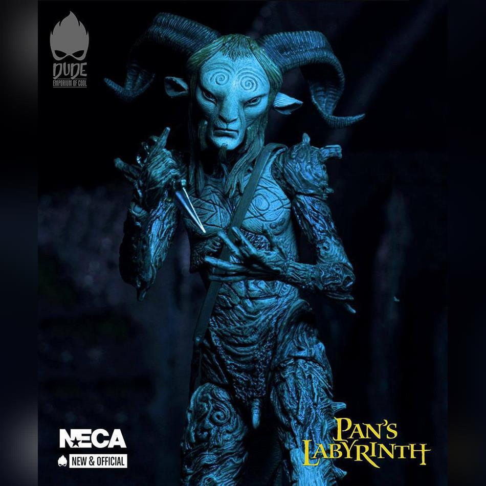 Pan's Labyrinth - Guillermo del Toro Signature - The Old Faun Action Figure by NECA