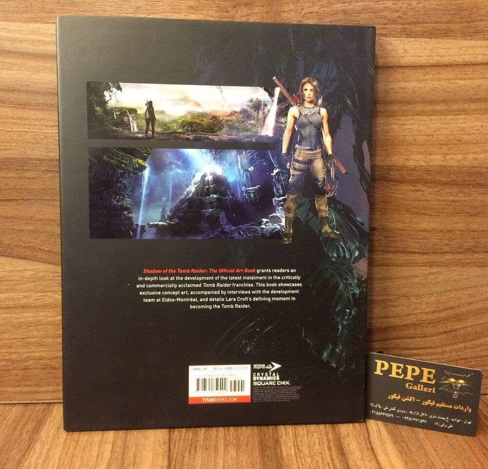 ارت بوک رسمی بازی Shadow of the Tomb Raider (1)
