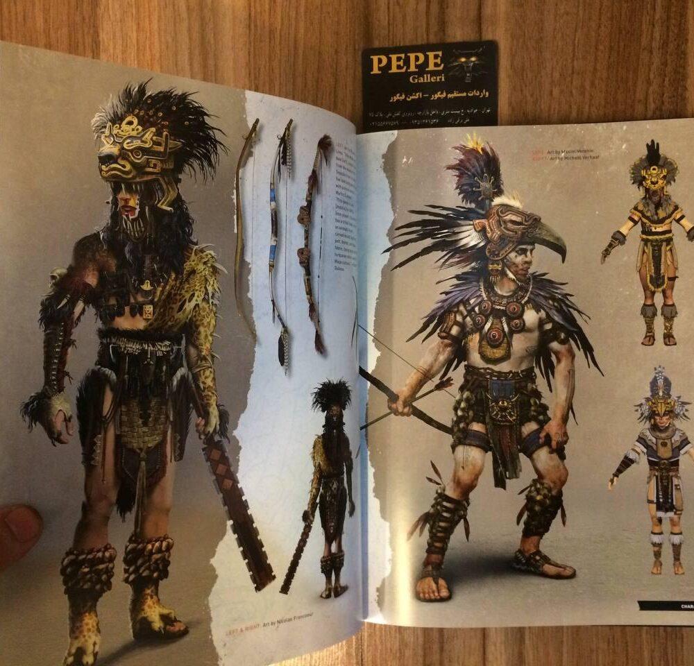 ارت بوک رسمی بازی Shadow of the Tomb Raider (15)