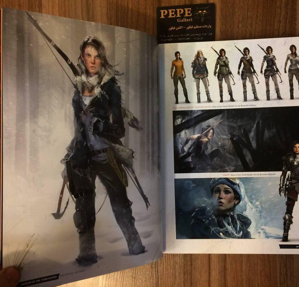 ارت بوک رسمی بازی Shadow of the Tomb Raider (3)
