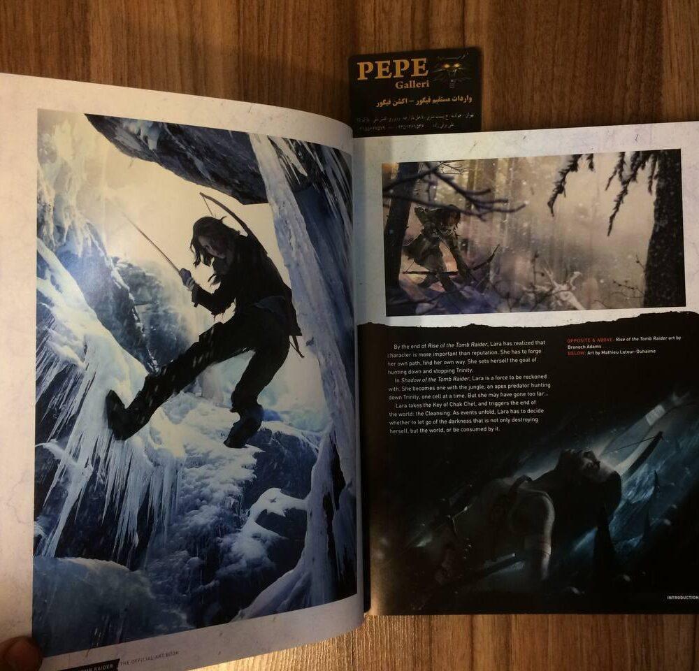 ارت بوک رسمی بازی Shadow of the Tomb Raider (4)