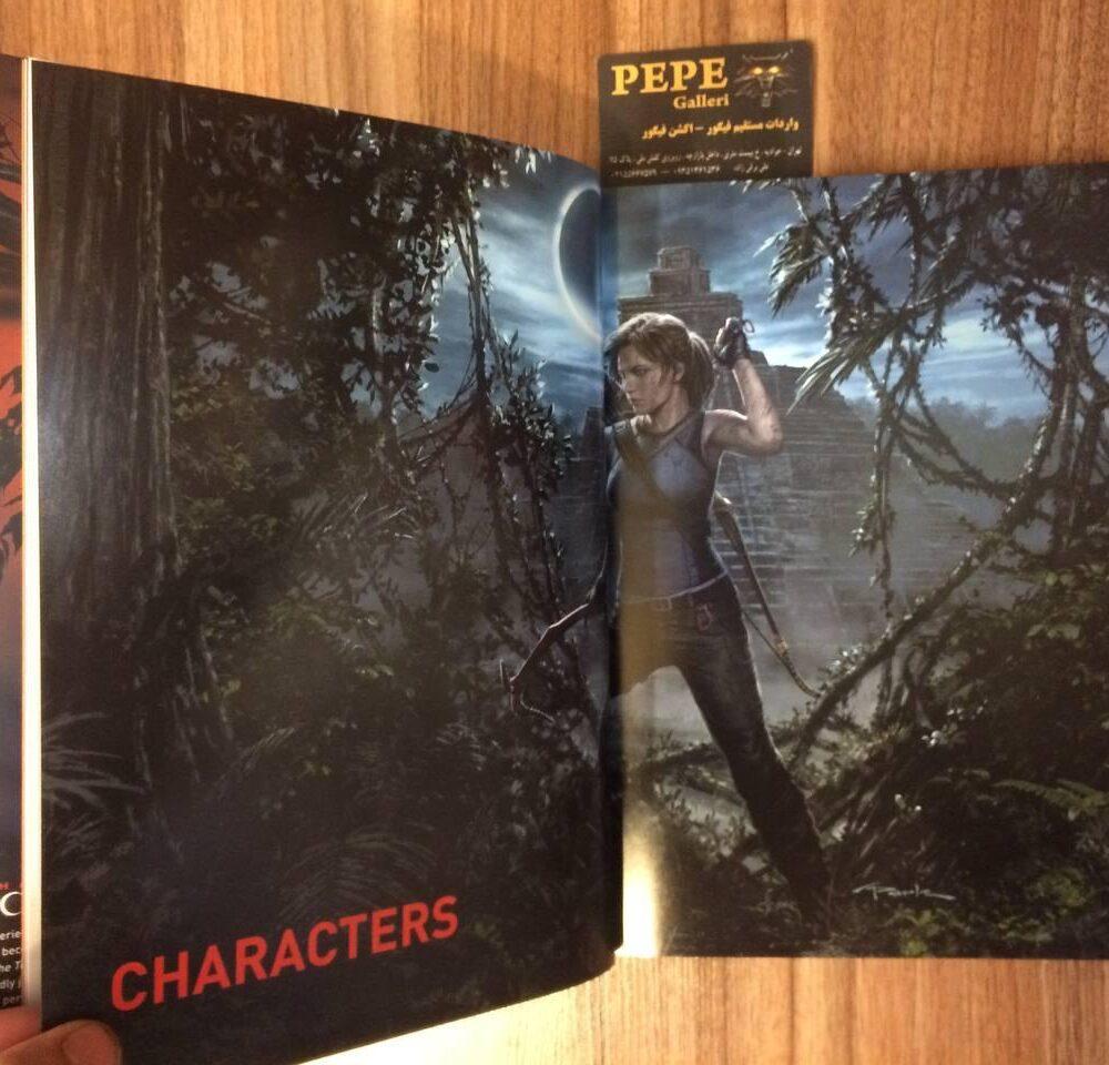 ارت بوک رسمی بازی Shadow of the Tomb Raider (5)