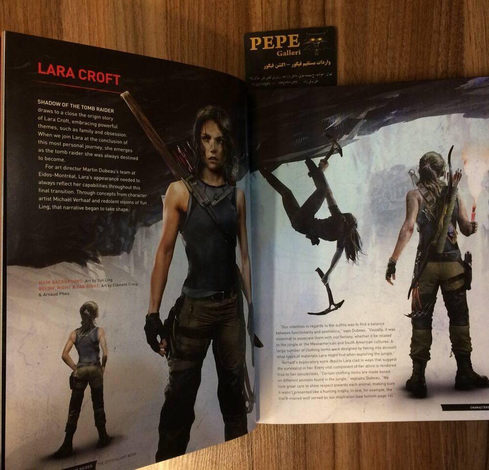 ارت بوک رسمی بازی Shadow of the Tomb Raider (6)