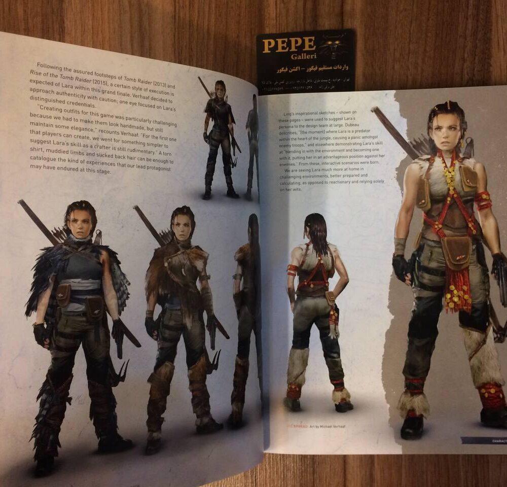 ارت بوک رسمی بازی Shadow of the Tomb Raider (7)
