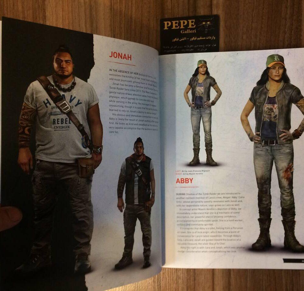 ارت بوک رسمی بازی Shadow of the Tomb Raider (9)