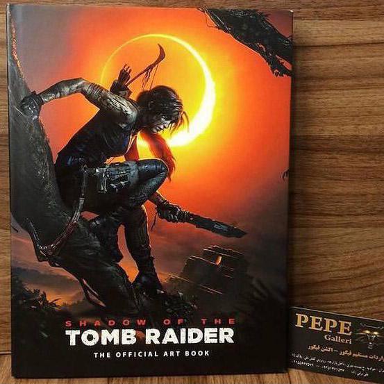 ارت بوک رسمی بازی Shadow of the Tomb Raider