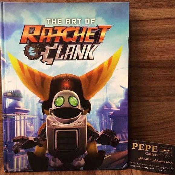 ارت بوک رسمی مجموعه ی کامل بازی های رچت و کلنک