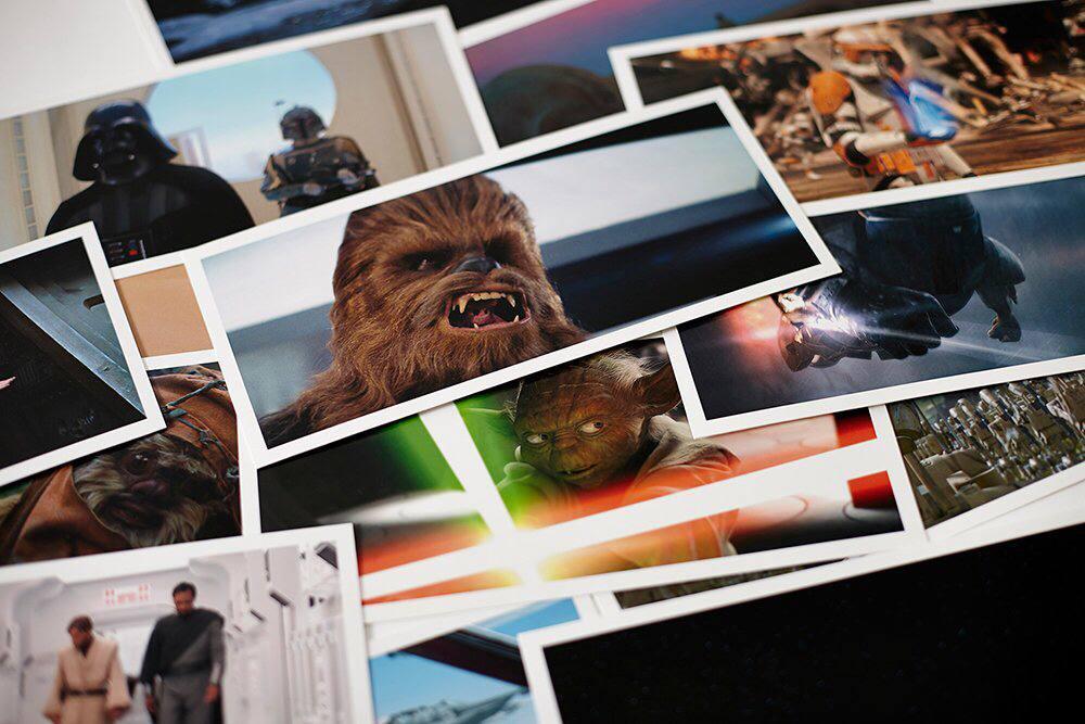 کالکشن ۱۰۰ عددی کارت پستال استاروارز (1)