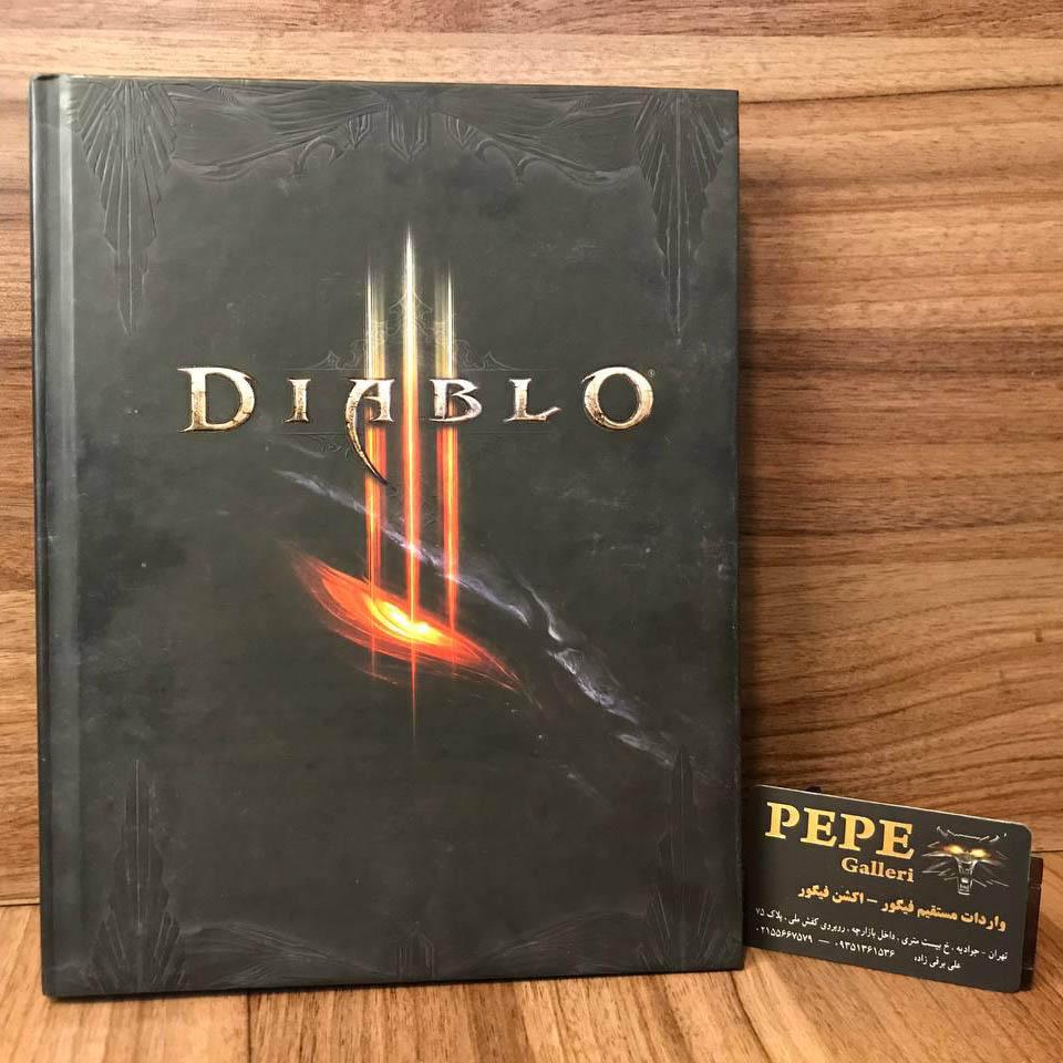 کتاب راهنمای رسمی استراتژی بازی دیابلو ۳ ( لیمیتد ادیشن / اسپشیال ادیشن )