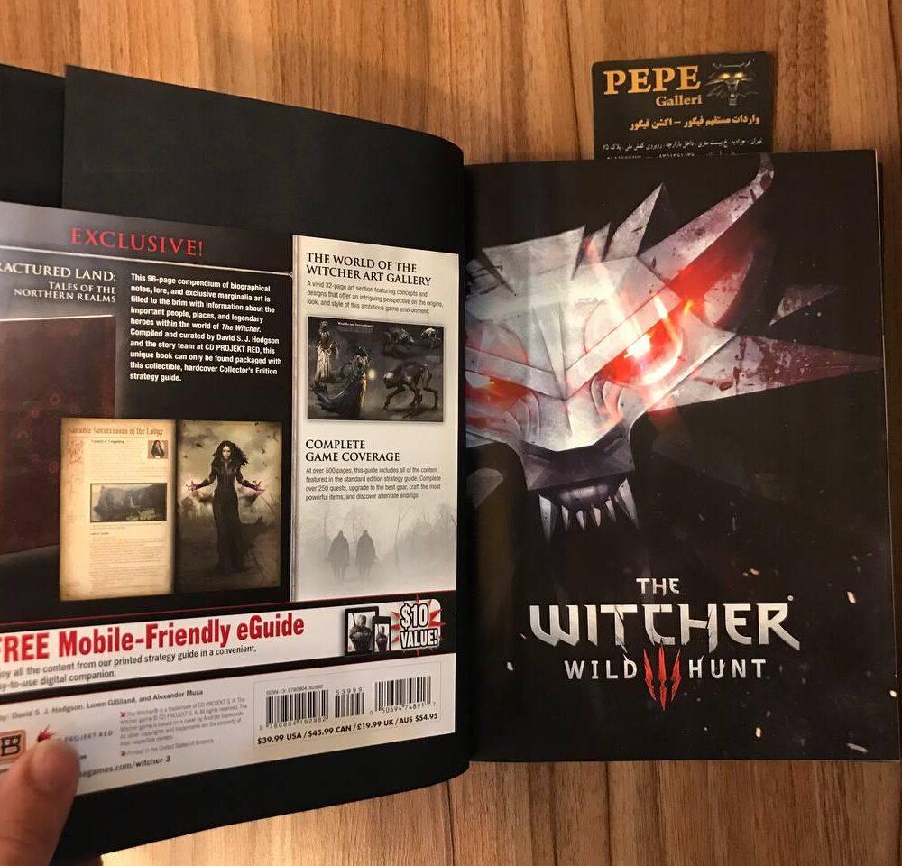 کتاب راهنمای رسمی بازی ویچر ( ویچر ۳ وایلد هانت اسپشیال ادیشن ) (2)