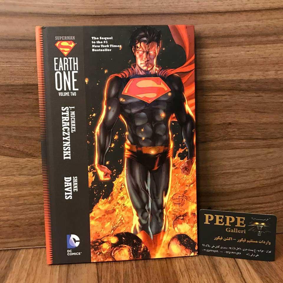 کمیک بوک هاردکاور سوپرمن (Earth One)