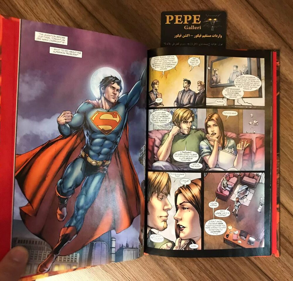 کمیک بوک هاردکاور سوپرمن (Earth One) (1)