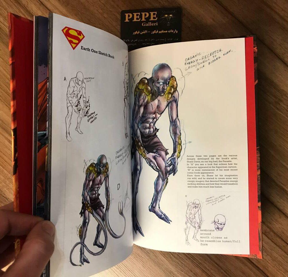 کمیک بوک هاردکاور سوپرمن (Earth One) (9)