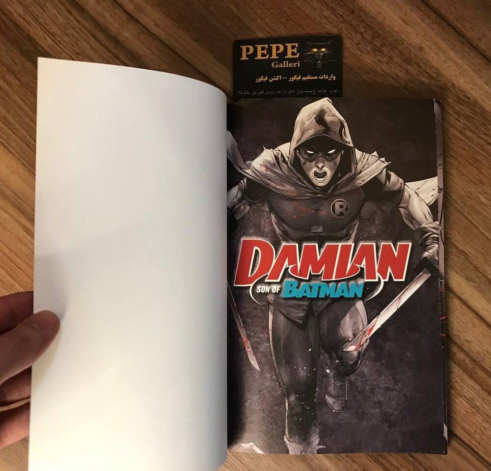کمیک بوک پسر بتمن ( Damian ) (2)