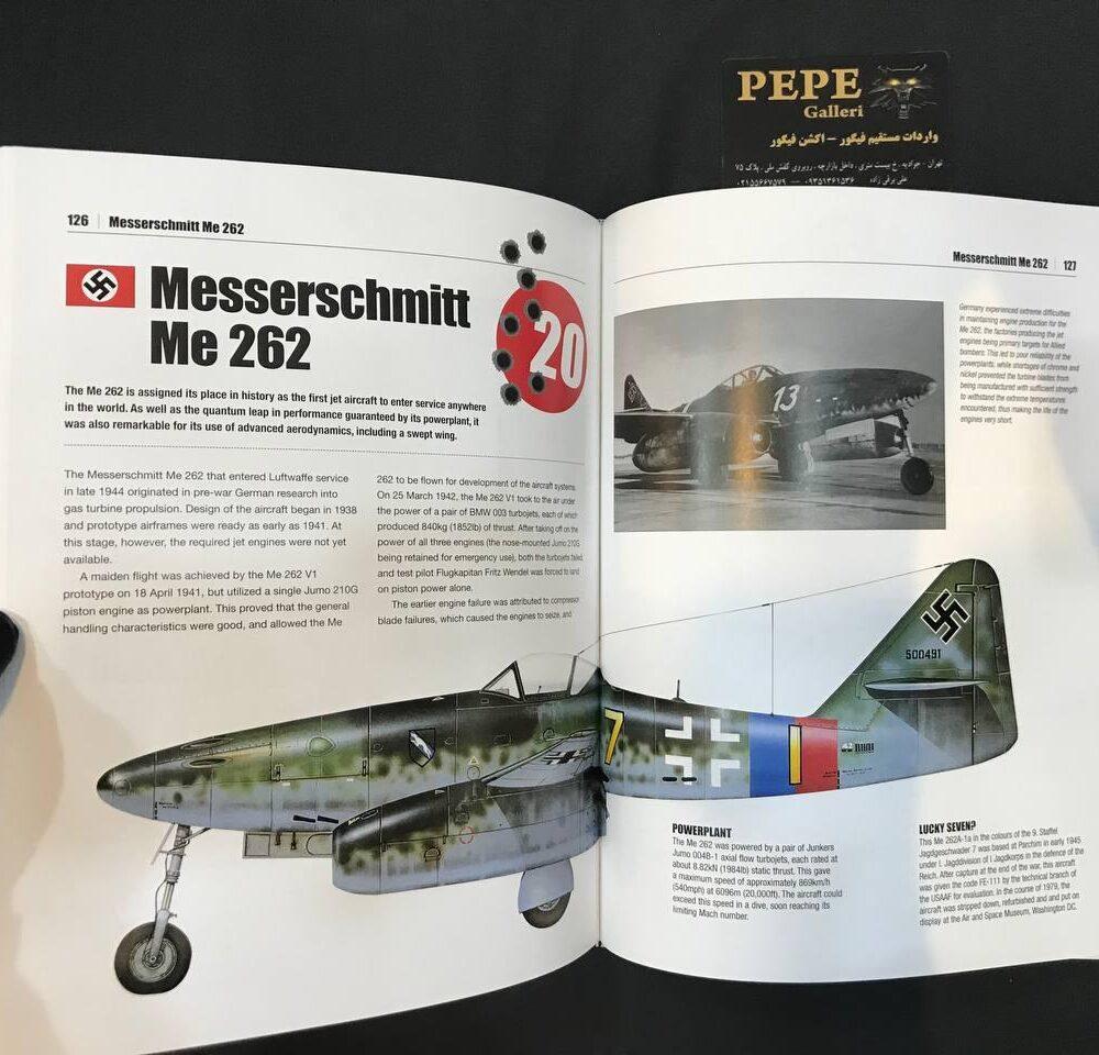 Thomas Newdick Top 50 Military Aircraft hardcover Book (14)