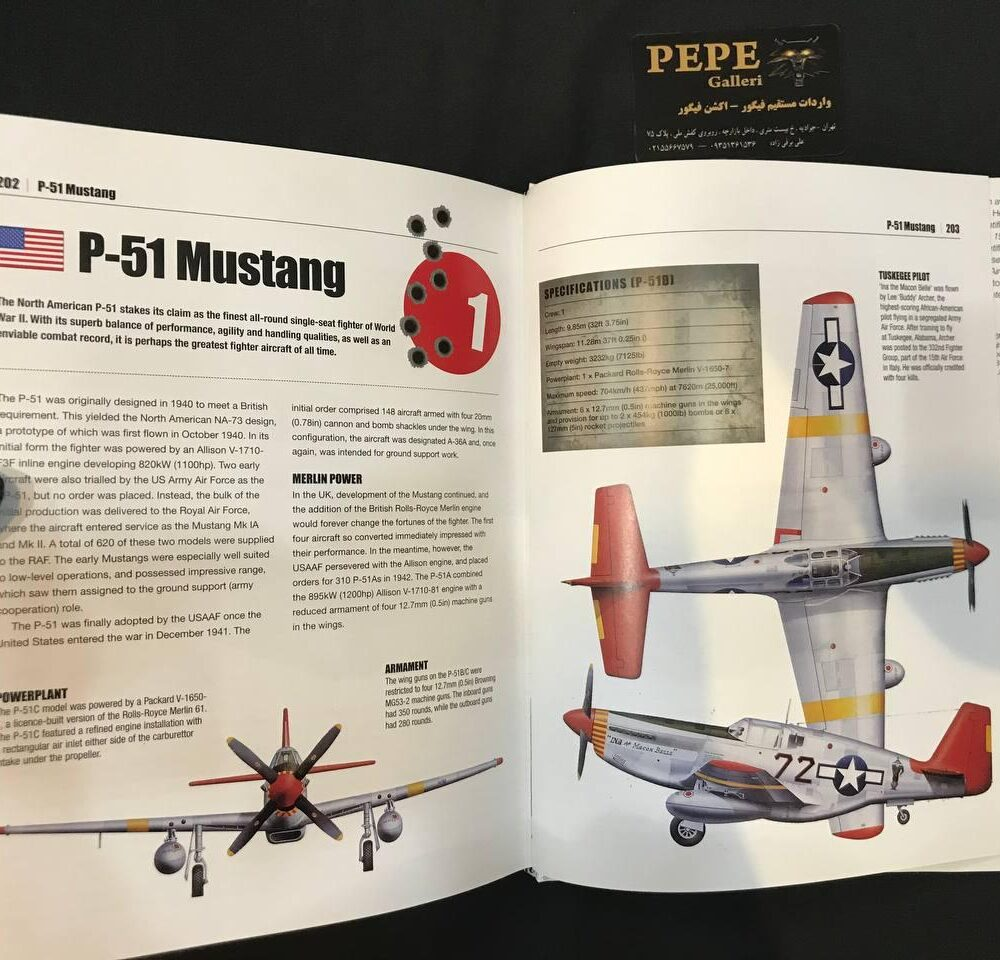 Thomas Newdick Top 50 Military Aircraft hardcover Book (16)