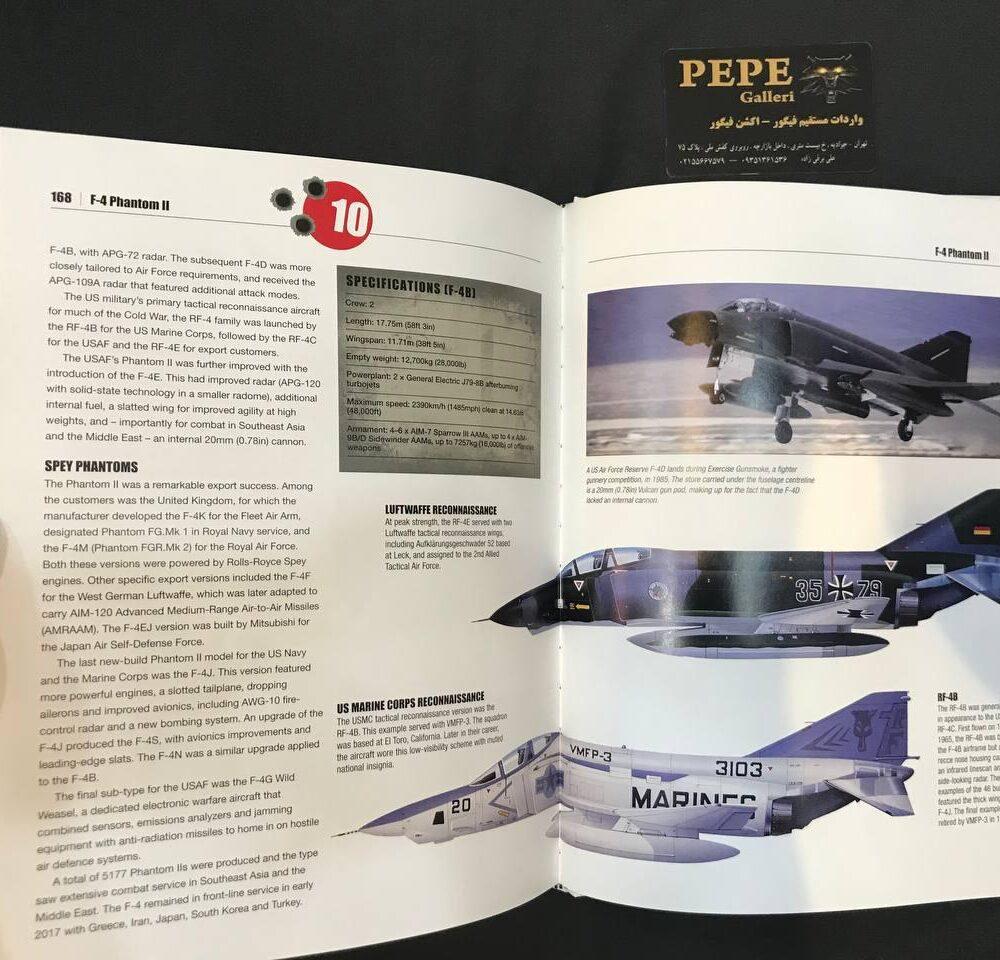 Thomas Newdick Top 50 Military Aircraft hardcover Book (19)