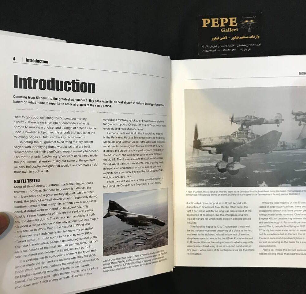 Thomas Newdick Top 50 Military Aircraft hardcover Book (2)